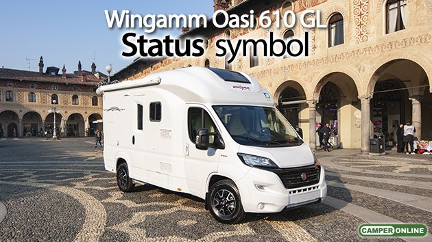 Wingamm Oasi 610 GL - CamperOnline - Aprile 2020 - Rassegna stampa - camper