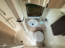 Interior and fabrics - camper