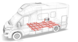 Riscaldamento a pavimento - w-factor - camper